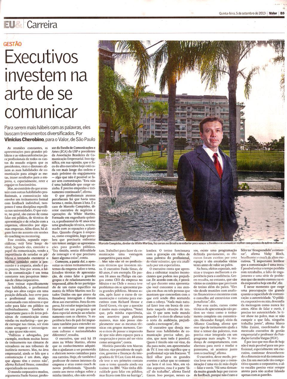 20130905 - Valor Brazil - article