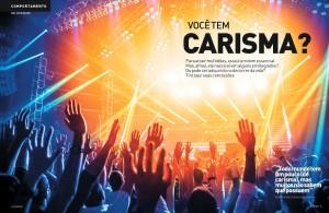 Tribuna de Santos Weekend Supplement Leads with Charisma