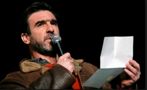 Philosopher, poet - and charismatic player: Eric Cantona
