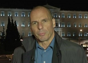 Greece's Varoufakis: New financial David confronts EU's immobile  Goliath.