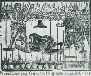 The pain of a top management takeover - 1649 style.