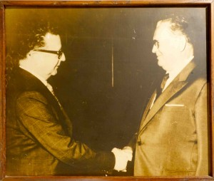 Chile's  Salvador Allende is long dead - but his lhama lives on.
