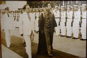 Libya's former  strongman Moammar Ghadaffi