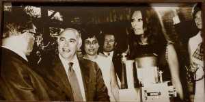 Actress Sophia Loren and her  husband Carlo Ponti  at Brijuni